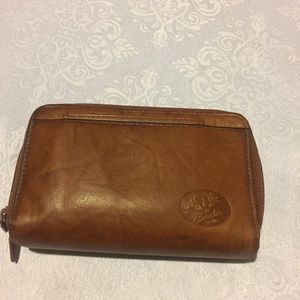 Buxton Small Leather Wallet